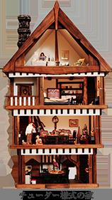 チューダー様式の家